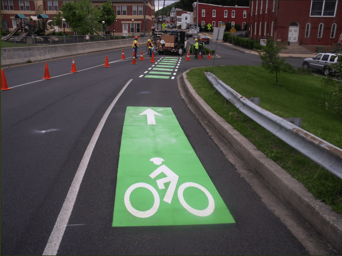 Bedford & Frederick Sts. Bike Improvementsre