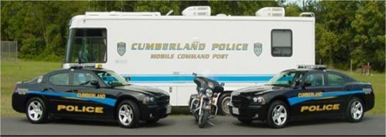 Cumberland Police Department Vehicles