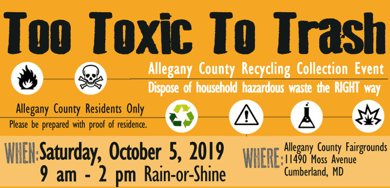 Special Recycling Events | Cumberland, MD