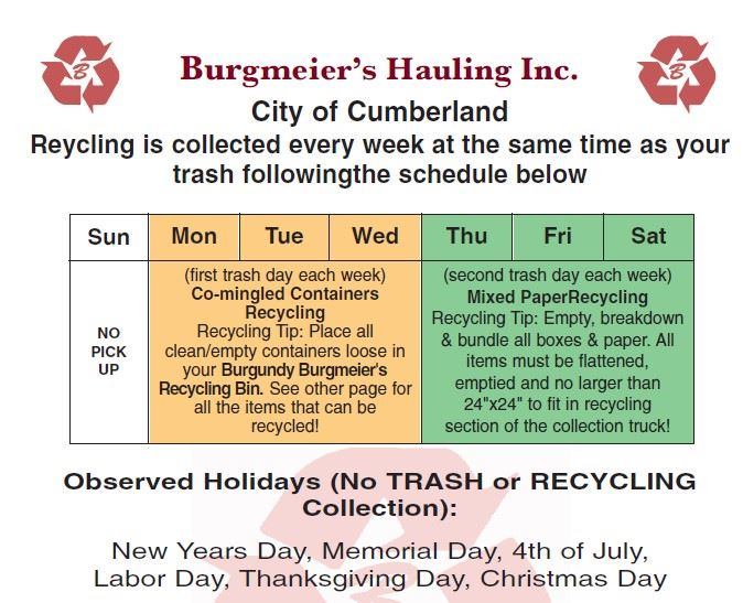 2020 Recycle Flyer