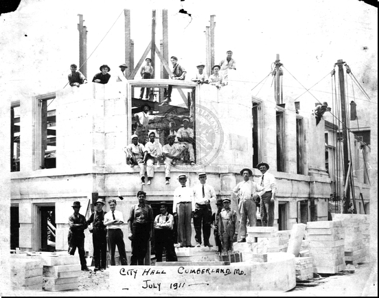 City Hall Under Construction